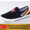Slip on men or Boys Flats Loafers Canvas Espadrilles Shoes with Printing for fashion