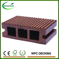 Engineered type decking wpc outdoor