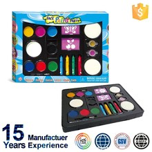 Non toxic Easy On and Easy Off New Design Kids Face Paint Kit