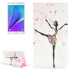 mobile phone leather case PU Leather slim cover case for galaxy note 5