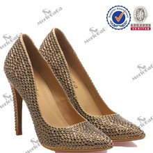 2014 queen Nightclub fashion wholesale high heel Ferret shoes with crystal