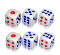 Bar hotle 16mm game dice