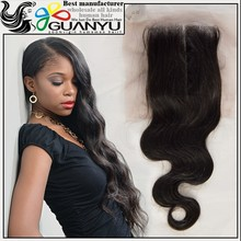2015 new arrival lace front closure brazilian body wave