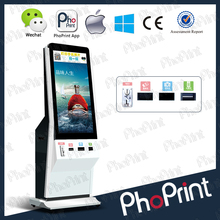 """42"""" HD LG LCD advertisement machine and wireless 3g//4g/wifi photo printing special advertisement device for marketing"""