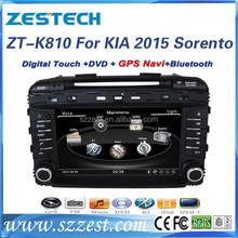 auto parts for kia sorento accessories car 2015 dvd/gps navigation/radio/tv/bluetooth/3G