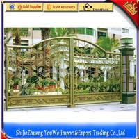 Cast iron gate models/front gate designs