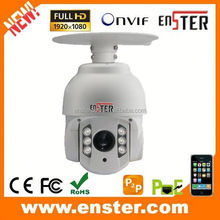 10x 5-50mm lens MINI IP High Speed Dome Camera outdoor ptz ip camera poe