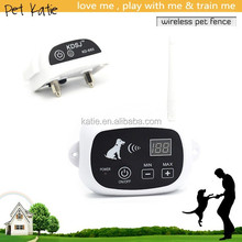 Customized Pet Containment Training Wireless Electric Dog Fence with Shock Collar