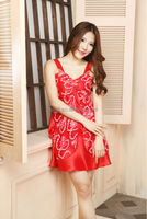 Free size high-end short Lace pajamas girl in pajamas photo latest nighty designs