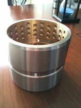 Hole type Excavator steel bucket bushing and pins manufacturer with QS brand