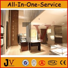 Furniture for jewelry decoration shop FREE installation service for big space