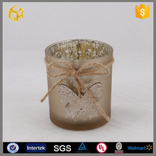 Votive Glass Gold Candle Holder