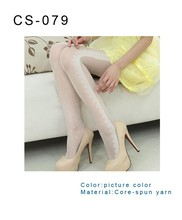 custom socks Popular Design Sexy Hot Girl Transparent Stockings For Lady Pantyhose Women Silk Stockings