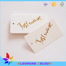 china factory cheap custom messages gift tags