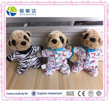 UK hot sell cloth meerkat plush toy/meerkat soft toy/meerkat stuffed toy