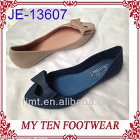 Peep Toe Flat Jelly Sandals Shoes