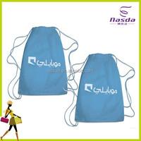 hot cheap nonwoven drawstring sport backpack bag