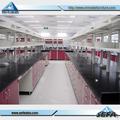 Seleccionable y de colores de laboratorio de química muebles de acero banco de trabajo