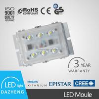 Sturdy led road light module solar retrofit kits with high brightness CRI 70