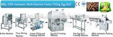 Automático multi- función de centro de llenado de huevo de la oblea rol stlck unidad