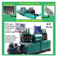 polish round steel automatic machine