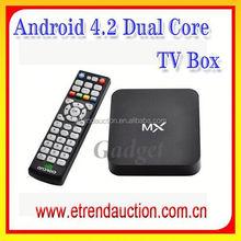 2015 Cheapest AML8726 AML8726 Dual Core Andriod 4.2 Smart TV Box CS188