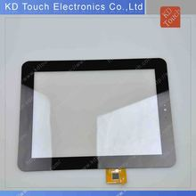"OEM 8"" capacitive touch screen panel for tablet with black"