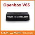 Openbox V6S Mini receptor de satélite Digital mismo S-V6 salida 2 xUSB WEB TV Wifi USB 3 G Biss llave CCCAMD NEWCAMD MGCAMD