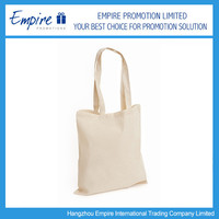 Hot Sale Recyclable Fashion Promotional Plain cotton tote bag