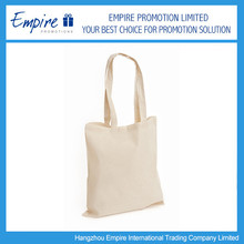 Hot Sale Recyclable Fashion Promotional Plain cotton tote bag
