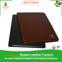 dogguan factory produce leather art portfolio case