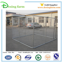 Galvanized metal dog kennel wholesale in box