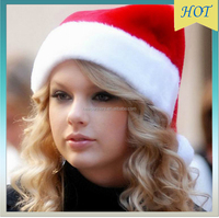 New Year Adult And Child Christmas Hat Caps Santa Claus Father Xmas Cotton Cap Christmas Decoration Gift High Quality
