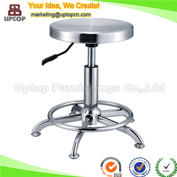 (SP-SC259) Glossy Height Adjustable Stainless steel stool for laboratory