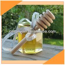 1.5oz Glass Wedding Favors Honey Jars With Gold Lids
