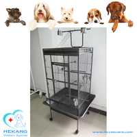 Elegant Stainless Steel Paint-Drying Parrot Cage For Sale