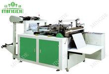 Máquina para hacer bolsas de plástico con sellado en caliente y corte en caliente (Línea simple)