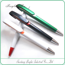 2015 Hot selling promotional plastic ballpoint click new style pen