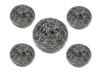 Mesh pot scourer/stainless steel scrubber