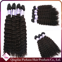 Wholesale price cheap hair extension high quality virgin human hair weft peruvian hair weave deep curly