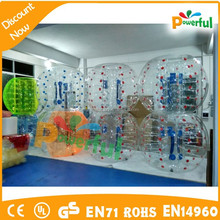 Manufacture soccer bubble ball/football inflatable body zorb ball/football zorb