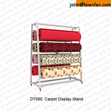 DT060 Rug Display Stand Rack / Carpet display rack /rolling up rug display rack stand