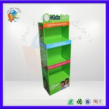 fs bearing corrugated shelf display cardboard ,frizz-ease displayunit for boots ,front stand display