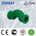 China alta calidad ppr plástico tipo de disparo de tubería codo