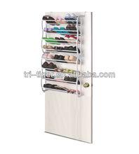 NEW Over Door 24 Pairs White Storage Shoe Rack Holder