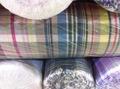 Hilados teñidos 100% raya algodón jersy tela de valores mucho en china
