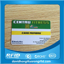 Classic 1K rfid smart card/NFC business card/blank smart card
