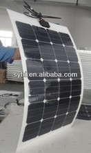 75W Semi Flexible Solar Panel with High Quality and Efficiency