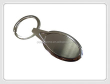 Promotional durable engraved metal key chain