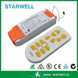 9-32V 900mA dimming led driver with remote controller CC led driver with CE approved